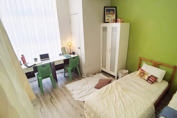 Double Room With View and Air-conditioner